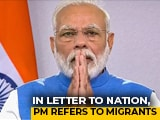 Video : On First Anniversary Of Second Term, PM Refers To Migrants, Virus Battle