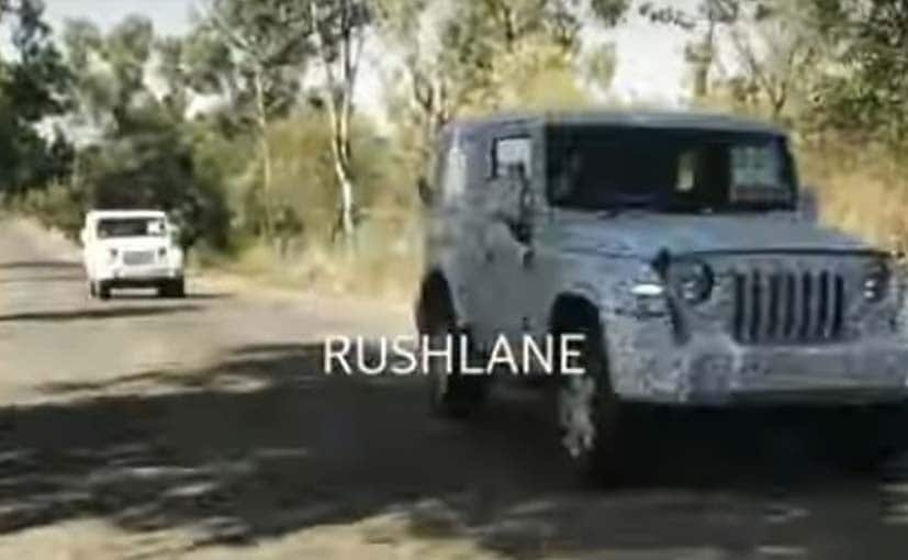 2020 Mahindra Thar Spotted Testing During Lockdown