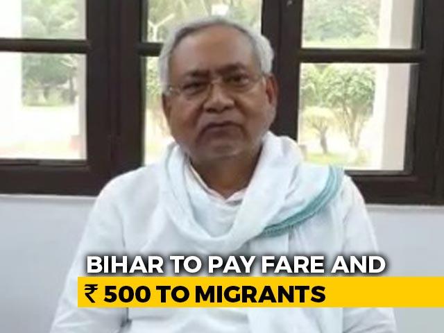 Video : Stung By Tejashwi Yadav, Nitish Kumar Says Train Fares To Be Reimbursed