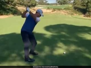 Ricky Ponting, Mark Waugh Engage In Twitter Banter Over Golf Video