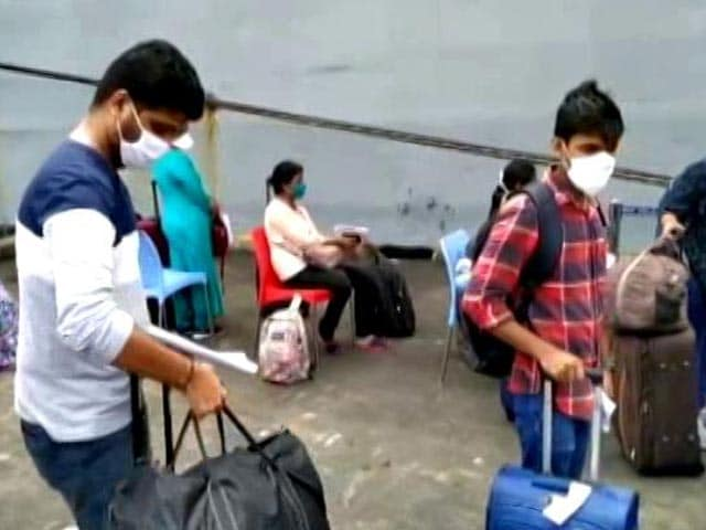 Video : Repatriation Of Indians Stranded Abroad Continues