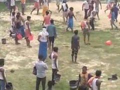 On Camera, Fight Over Water At Bihar Quarantine Centre