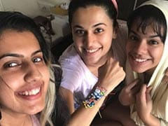 When Taapsee Pannu Forced Her Siblings To Tie Her A <i>Rakhi</i>