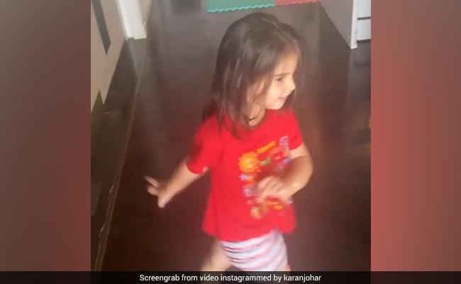 Karan Johar Children Yash And Roohi Dance On Aankh Maare Video Viral On Internet – करण जौहर के बच्चों ने आंख मारे पर किया धमाकेदार डांस, Video देख फैंस बोले