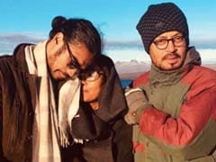 Irrfan Khan In A Hidden Gem With Son Babil And Wife Sutapa. See Pic