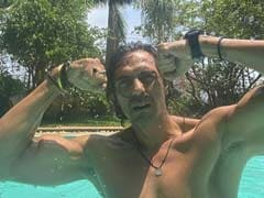 Longing To Jump In A Pool? Arjun Rampal's Pic Will Make You Feel Worse