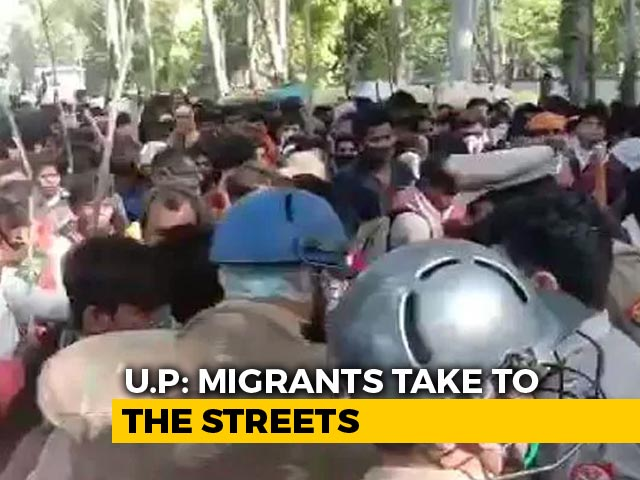 Video : Day After 26 Deaths, UP Stops Hundreds Of Migrants At Borders