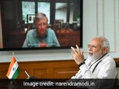 """India's Role Is Key"" In COVID-19 Fight, Says Bill Gates, Thanks PM Modi"