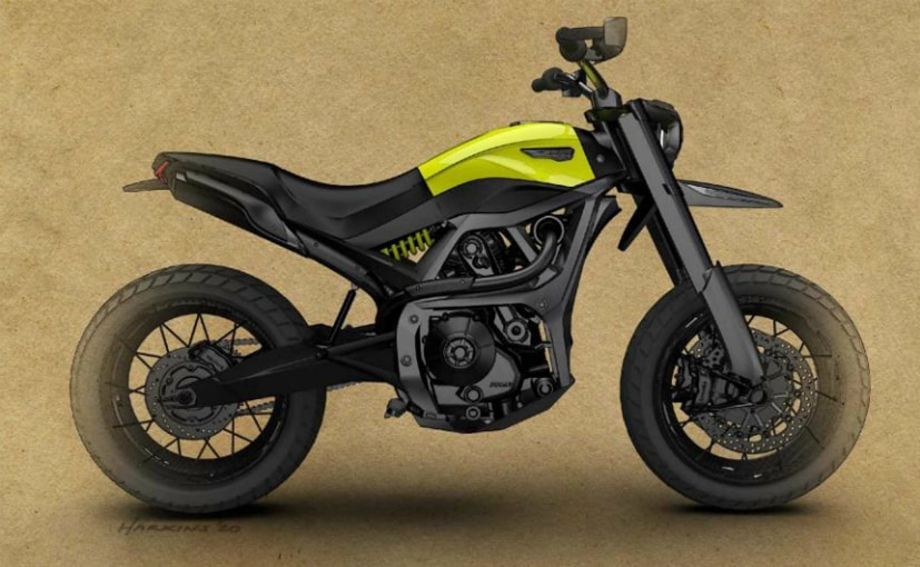 The Scrambler design imagined by a US student has won an award from Ducati