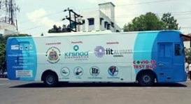 Coronavirus: Mumbai Gets A World-First, Unique Testing Facility On Wheels