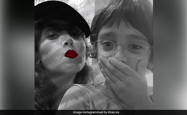 Ira Khan Shares A Goofy Pic With 'Quarantine Buddy' Azad And The Internet Loves It