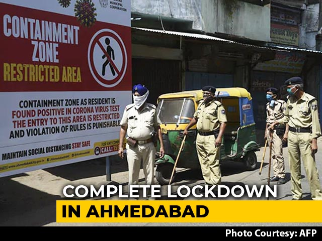 Video : Ahmedabad Shut Down For A Week, Surat From Saturday