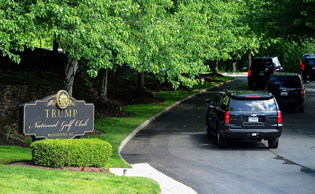 Donald Trump Plays Golf Amid Coronavirus As US Death Count Nears 1 Lakh