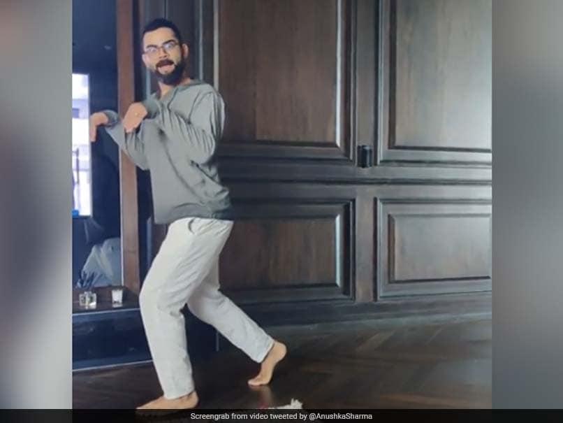 "Virat Kohli Is A ""Dinosaur On The Loose"" In Anushka Sharmas Hilarious Video"