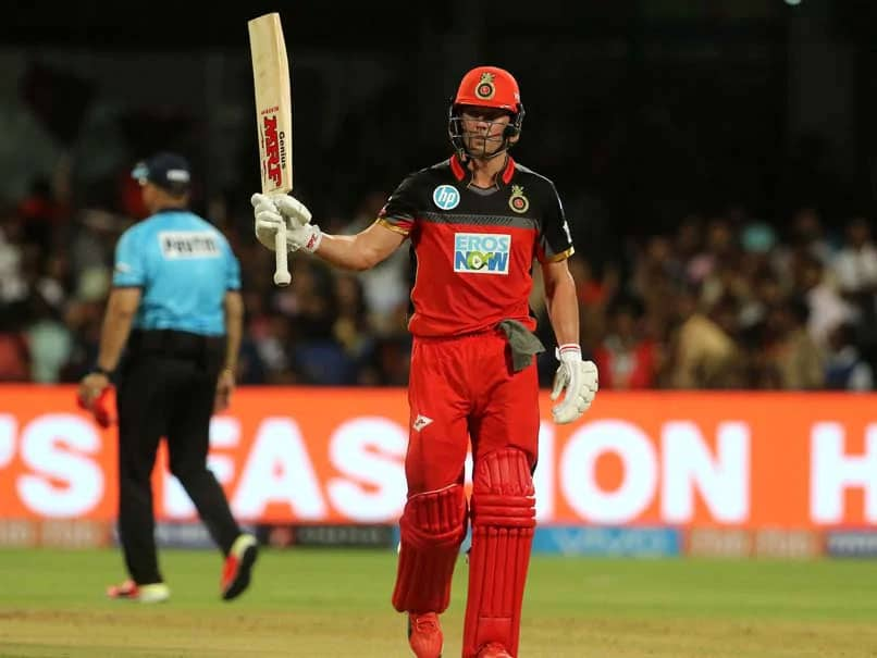 """AB De Villiers Says He Would Love To Play For RCB For The """"Rest Of My Life"""""""
