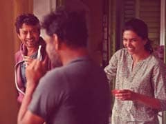 "A <I>Piku</i> Memory With ""Dear Friend"" Irrfan Khan And Deepika Padukone"