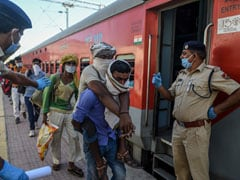 Received 1,337 Trains Carrying Migrants From Various States: UP Government