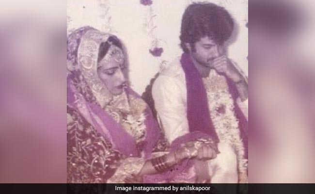 Anil Kapoor Had Tears In His Eyes When He Saw Sunita Kapoor As His Bride. Read His Post