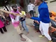 2 Abused, Kicked By Bengaluru Policeman For Scooter Stunts On Busy Road