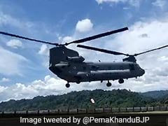 India's Latest US-Made Heavy-Lift Chopper Gets To Work In Arunachal
