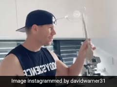 Watch: David Warner Uses Wine Glass, Kitchenware As Musical Instruments In Hilarious TikTok Video
