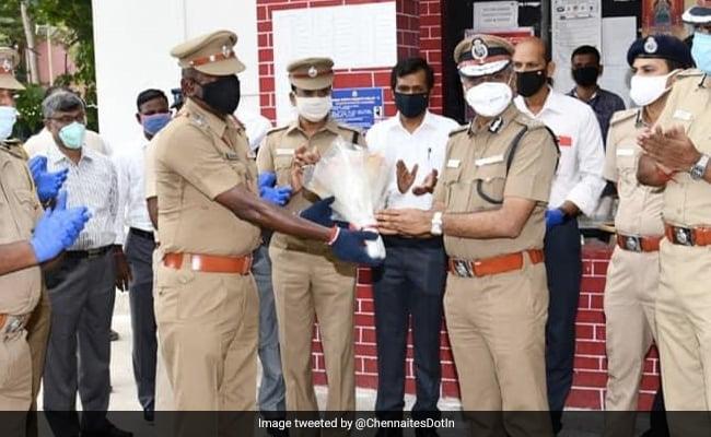Chennai Cop Beats Coronavirus. Police Chief, A Band Welcome Him Back