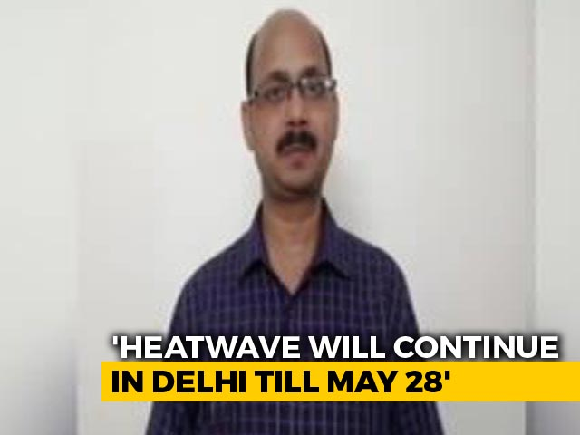 """Video : """"Red"""" Heatwave Alert For Most North Indian States, May Touch 48 Degrees"""