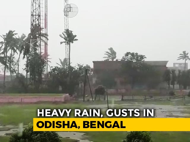Video : Cyclone Amphan To Hit Bengal Today, Strong Winds, Rain Near Coast
