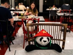 A 'Panda' Sits With Diners Eating Alone At This Thailand Restaurant