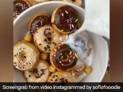 TikTok's Viral Mini Doughnut Cereal Trend Is The Ultimate Delight For Kids