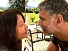 """Ankita Konwar And Milind Soman Are """"Lost In Each Other's Eyes."""" See Pic"""