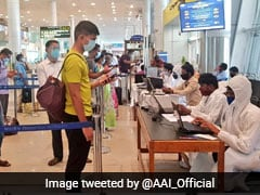"""Switched To New Normal"": Airports' Body Tweets Photos Of Social Distancing"