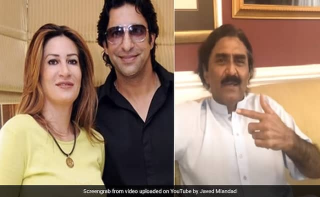 Javed Miandad praising the role of first wife Huma in making wasim akram