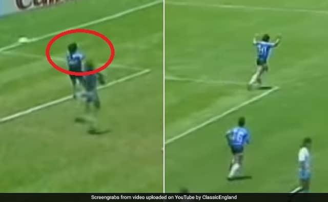 World Cup stunning moments: Diego Maradonas Hand of God