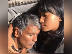 Ankita Konwar And Milind Soman Basking In The Sun: The Only Thing That's Changed Since Last Monday Is...