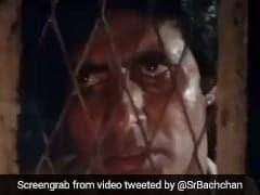 अमिताभ बच्चन को शख्स ने भेजा 'अग्निपथ का Video क्लिप, कैदी को मारी गोली तो दीवार पर लिखा था-'भूतनाथ'
