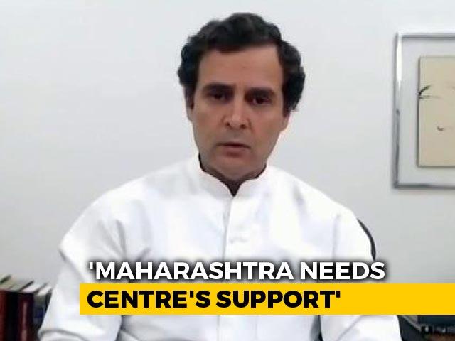 "Video : ""We Aren't Key Decision-Maker In Maharashtra"":Rahul Gandhi Causes Stir"