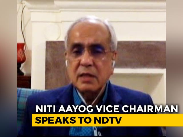 "Video : ""Won't Let Small Businesses Go Under, Will Do Whatever It Takes"": NITI Aayog Vice Chairman"