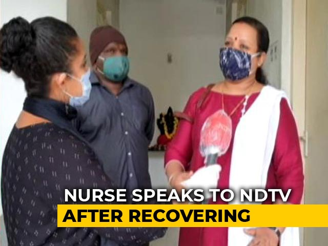 Video : From Treating Virus To Catching It Herself: Kerala Nurse Back To Work