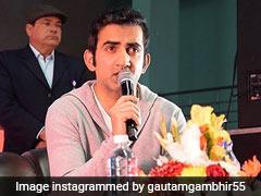 """""""Always Felt At Home"""": Gautam Gambhir May Campaign For BJP In Bengal"""