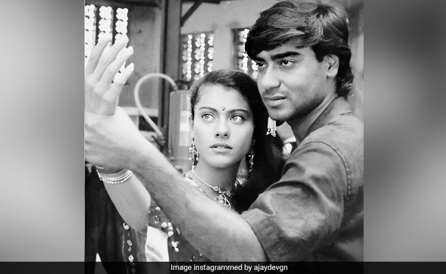 'Feels Like It's Been 22 Years Since The Lockdown Began': Ajay Devgn Shares Throwback Pic With Wife Kajol