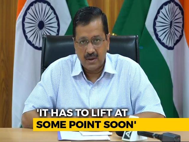 "Video : ""Have To Learn To Live With Coronavirus"": Arvind Kejriwal Reminds Delhi"