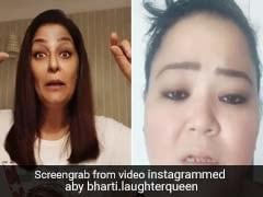 भारती सिंह ने पूछा 'घर रहते आइब्रो बनाने का तरीका', अर्चना पूरन सिंह ने बताया ये जबरदस्त उपाय- देखें Video