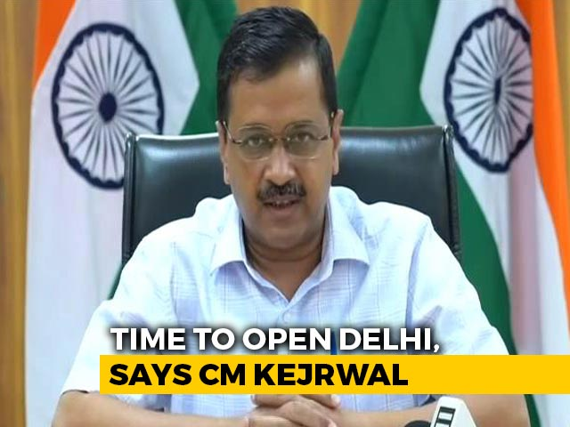 "Video : ""Time To Reopen Delhi, Ready To Live With Coronavirus"": Arvind Kejriwal"