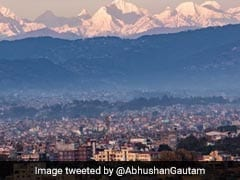 Kathmandu Gets A Glimpse Of Mount Everest From 200 Km Away. Pics Are Viral