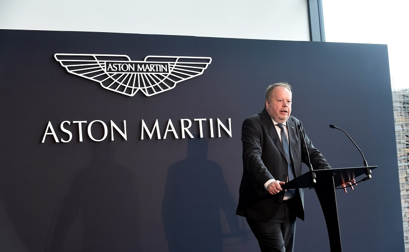 Aston Martin Chief Executive Andy Palmer was going to leave as part of a shake-up of its leadership