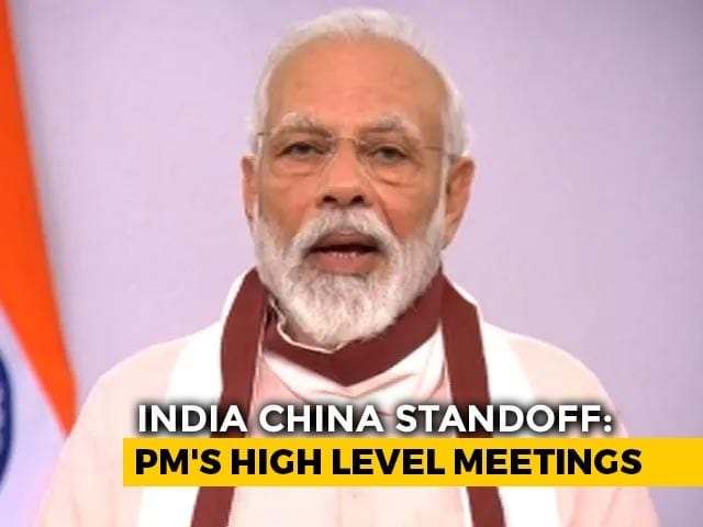 Video : Top News Of The Day: PM Modi Chairs High-Level Meet Amid India-China Face-Off In Ladakh