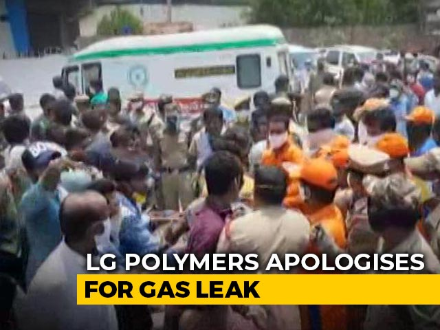 Video : Amid Protest, Chemical Firm Sorry For Leak That Killed 11 At Andhra Plant