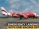 Video : Jaipur-Hyderabad AirAsia Flight With 70 On Board Lands With Engine Shut