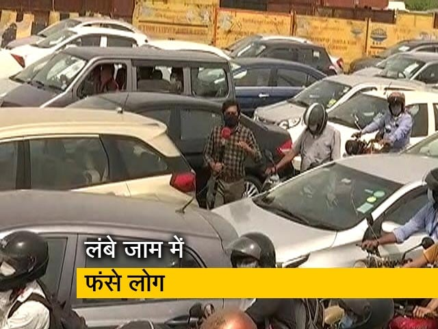 Videos : दिल्ली-हरियाणा बॉर्डर फिर सील